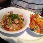 Chicken and veggies (menu)