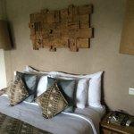 Chambre décorée avec goût