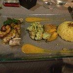 Repas servi au Restaurant Terra Cotta! Un rêve pour les papilles