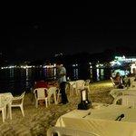 Restaurant de bord de mer