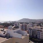 View from terrace towards Marina