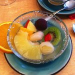 salade de fruits ridicule !
