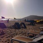 Still on beach at 6.30pm  - stunning