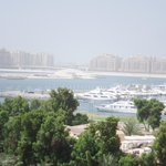 Le Royal Meridien balcony view of Dubai Marina