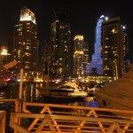 Dubai Marina night time