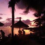 Sunset at Blue Infinity Bar