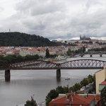 Вид на мосты Праги