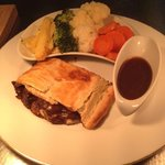 Steak and Farne Ale Pie