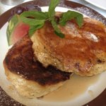 Calorie-worth pancakes