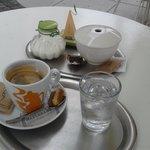 ''americano'' coffee and tea