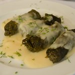 Dolmades with meat and rice