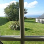 The view from the Abereiddy room