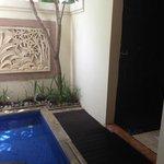 Bali (outdoor) bathroom for the normal room (not villa)