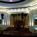 Auditorium with its 4300 pipe organ