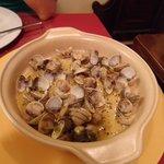 Muscheln mit einem Hauch Knoblauch