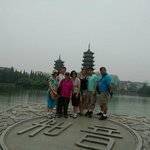 Mr.Paul and family in Guilin.