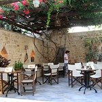 Breakfast and relax area at Casa Vitae, Rethymnon