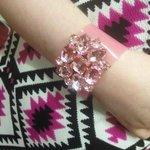 Pink cuff £15
