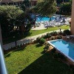 Room view to main pool