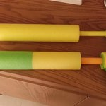 The 2014 season watergun finalists. 1st place (lower), 2nd Place (upper)