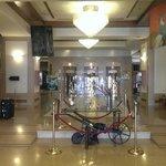 hall to the lobby