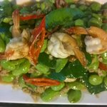 Pad Sataw with Shrimps