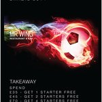 Takeaway World Cup offer, 12th of June to the 13th of July 2014