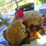 parmesan crusted lamb chops