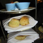 Scones, clotted cream & fresh jam