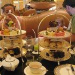 High Tea at the Emirates Palace.