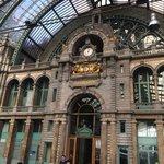 Bahnhof , einer der schönsten der Welt