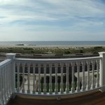 "A view from ""The Cove"" at 931 Beach Avenue in Cape May NJ. One of our most popular rooms."