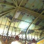 Il soffitto Art Nouveau