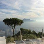 Vue depuis Restaurant sur Capri
