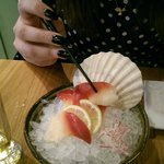 Surf Clam sashimi