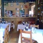 Bar & seating area