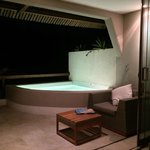 Plunge pool- too cold to swim but nice to see!