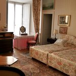 La Charles IX chambre lit doube