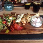 Just had a fab lunch in gambas!! Food was fantastic so was the service! Highly recommend xx