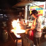 Good street food near the bus station, tip ��