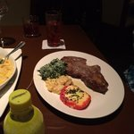 Harry's dry aged ribeye--my friend is still talking about the flavor of this steak!