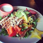 Scrumptious Salad with house made dressing