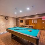Pool table in a Private Sauna