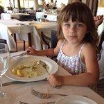 Guendalina pranzo alla Busaccia Baia sardinia 2014