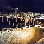 Baby stalactites