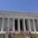 Picture taken on the Best of DC Tour June 14th- Lincoln Memorial