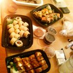 Sushi per Lieferdienst