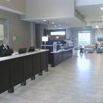 Check in Hotel Lobby area