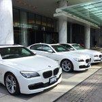 Hotel cars: BMW 7 series
