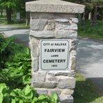 Indgang til kirkegården